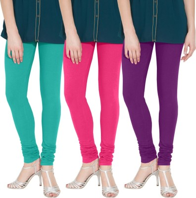 Nicewear Women's Light Blue, Pink, Purple Leggings