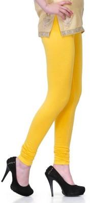 Fadattire Women's Yellow Leggings