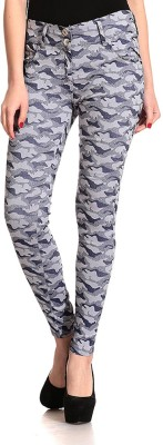 Lqqke Women's Blue Jeggings