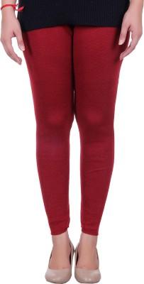 Sellsy Women's Maroon Leggings