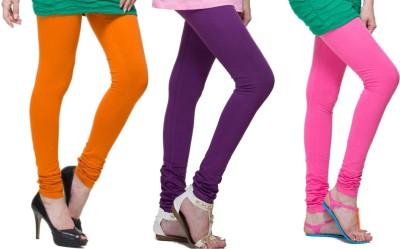 Lienz Women's Orange, Purple, Pink Leggings