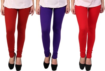 Legemat Girl,s Maroon, Purple, Red Leggings