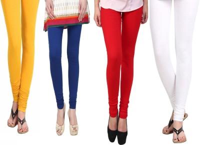 Vastra Buzz Women's Blue, Yellow, Red, White Leggings