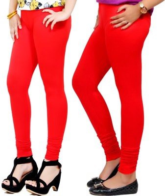 By The Way Women's Red, Red Leggings