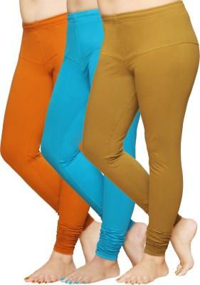 Pomelo Women's Yellow, Green, Maroon Leggings
