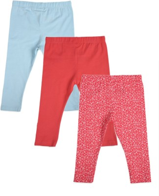 Mothercare Baby Girl's Blue, Pink Leggings