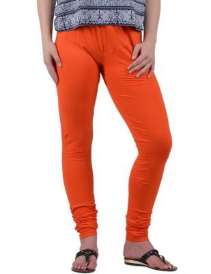 American-Elm Women's Orange Leggings