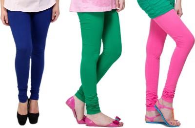 Lienz Women's Blue, Green, Pink Leggings