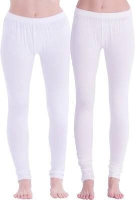 Spictex Girl's White Leggings