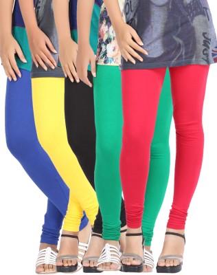 Be-Style Women's Multicolor Leggings