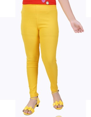 Mint Girl's Yellow Jeggings