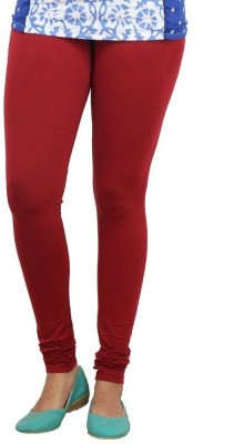 Fashionkala Women's Maroon Leggings