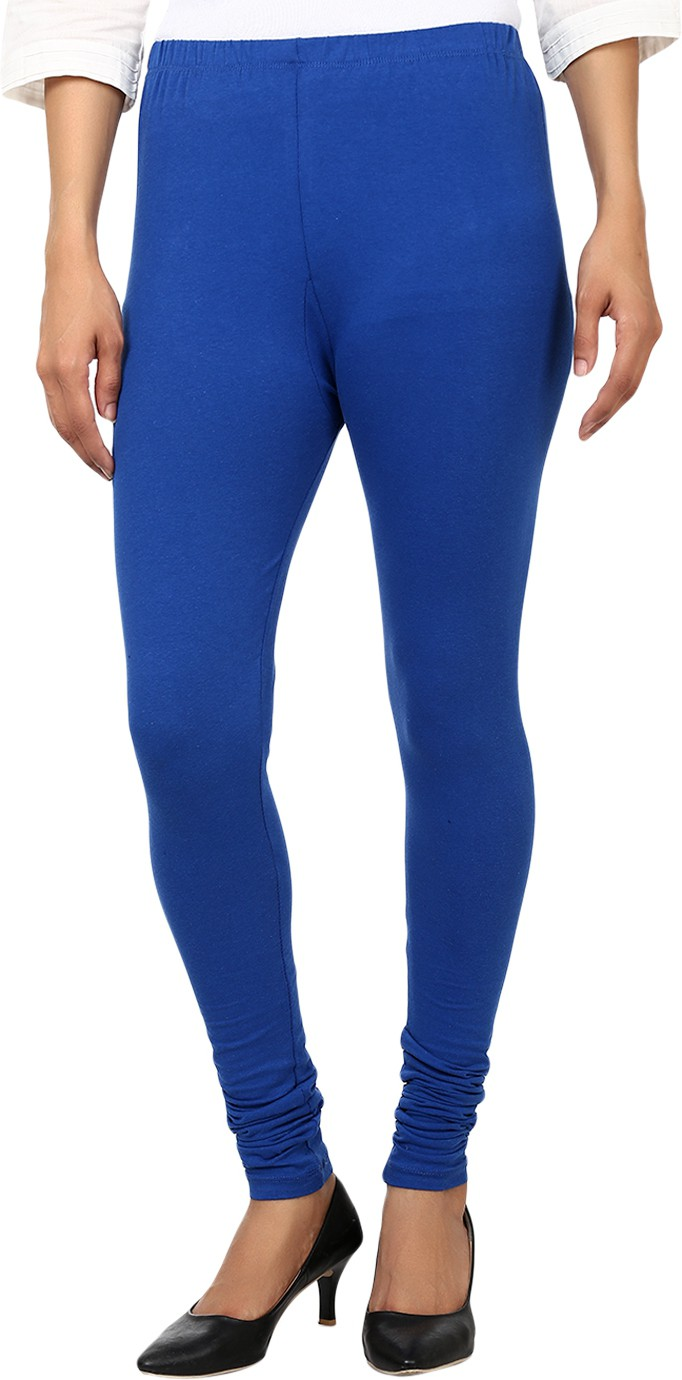 Awa Womens Blue Leggings