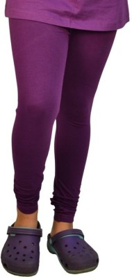 Shree Ji Enterprises Women's Purple Leggings