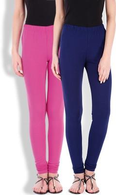 Beyouty Women's Blue, Pink Leggings