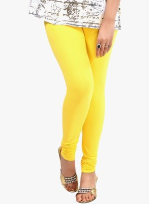 Vrshoppers Women's Yellow Leggings