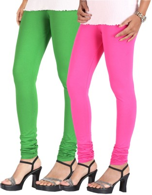Greenwich Women,s Green, Pink Leggings