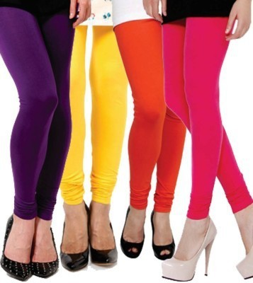 Xarans Women's Pink, Red, Purple, Yellow Leggings