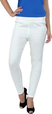 F Fashion Stylus Women's White Jeggings