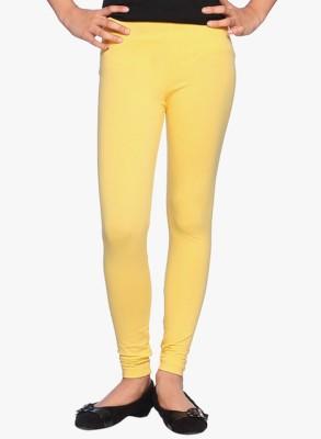 UMESH FASHION Women's Yellow Leggings