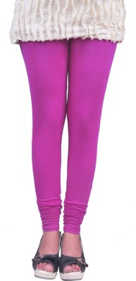 Anubhaviya Women's Purple Leggings