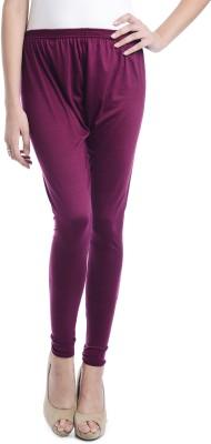 Samridhi Women's Purple Leggings