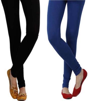 Vastra Buzz Women's Blue, Black Leggings
