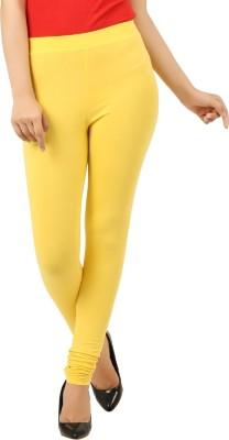 New Darling Women's Yellow Leggings