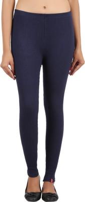 Notyetbyus Women's Dark Blue Leggings