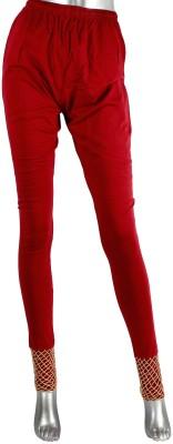 moKanc Women's Red Leggings