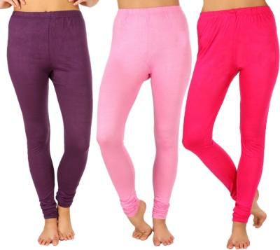 SLS Women's Purple, Pink, Pink Leggings