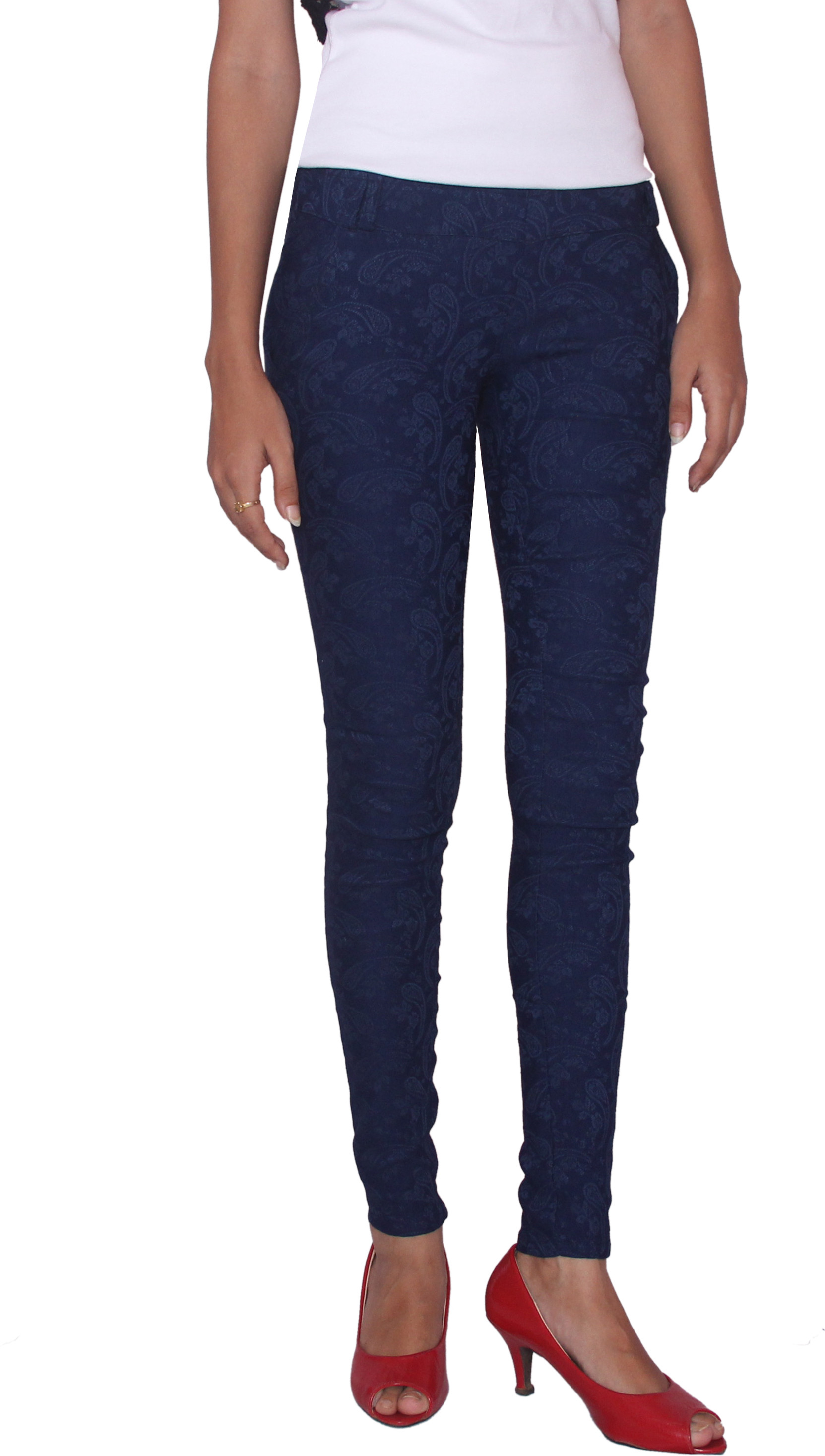 Fungus Womens Blue Jeggings