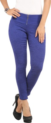 Lotus Women's Blue Jeggings