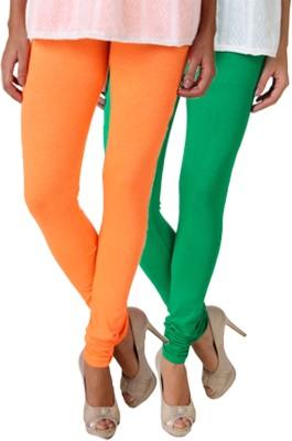 Fasense Women's Green, Orange Leggings