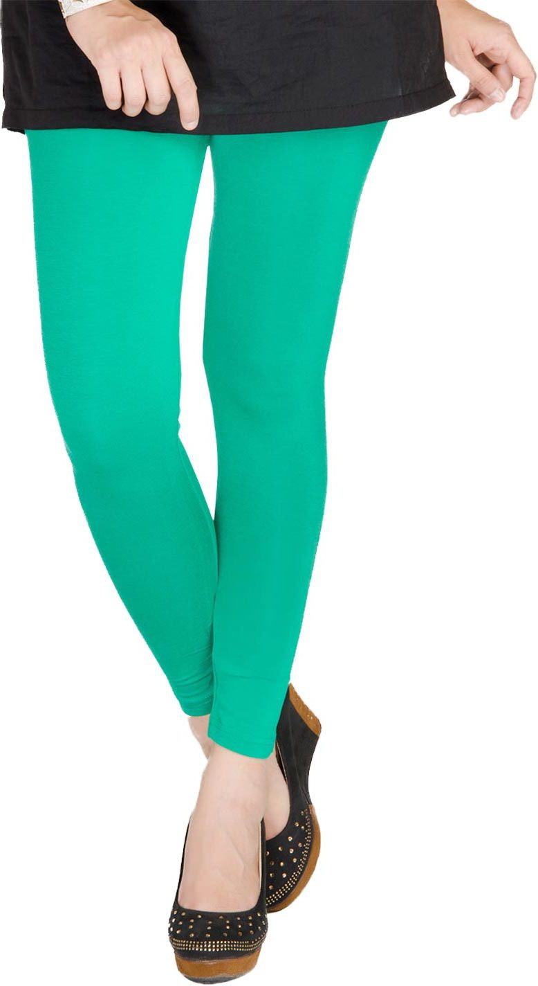 Medoo Womens Green Leggings