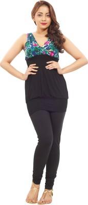 Minu Suits Women's Black Leggings