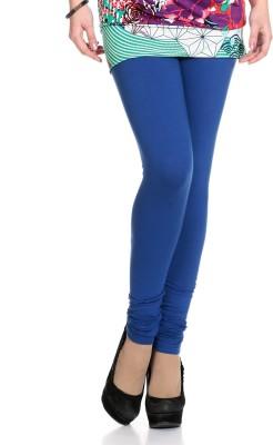 Ahhaaaa Women's Blue Leggings