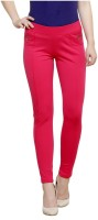 Westwood Women's Pink Jeggings best price on Flipkart @ Rs. 1329
