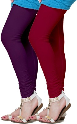 FRONEX INDIA Women's Purple, Maroon Leggings