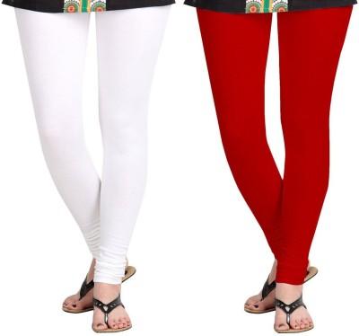 AF Sayonara Women's White, Red Leggings