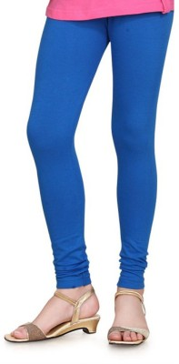 Feminine Women's Blue Leggings