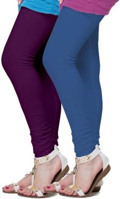 FRONEX INDIA Women's Purple, Blue Leggings