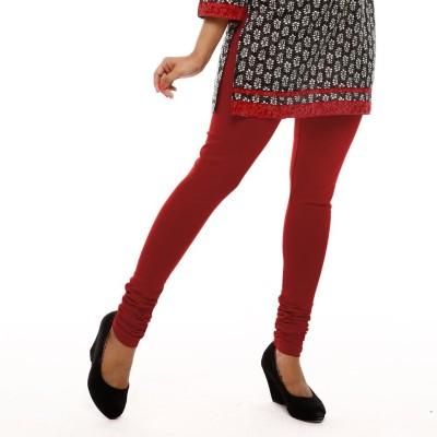 Leoma Women's Maroon Leggings
