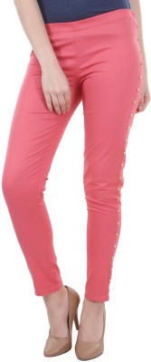 Street 9 Women's Pink Jeggings