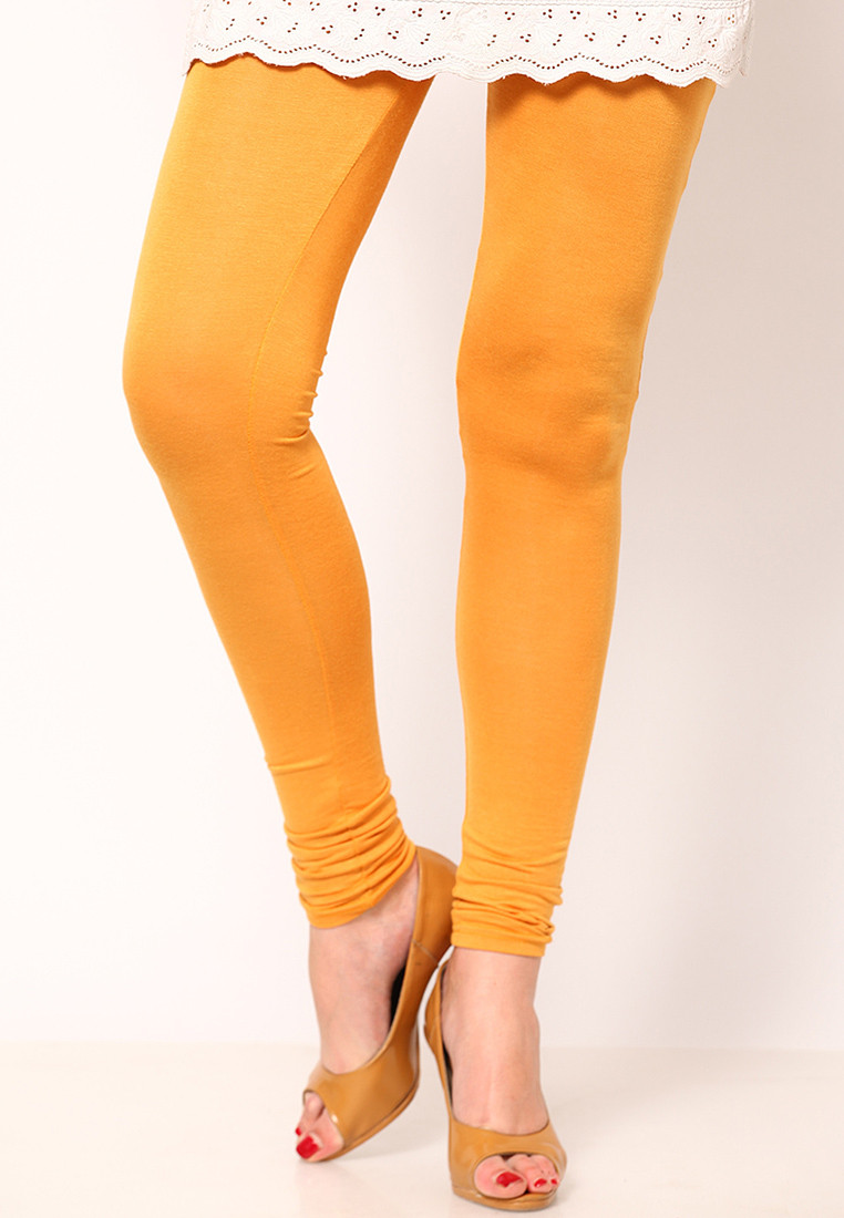 Sportelle USA India Womens Yellow Leggings