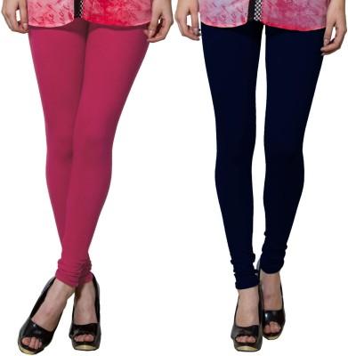 Both11 Women's Dark Blue, Pink Leggings