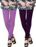 JV Wears Women's Purple, Purple Leggings...