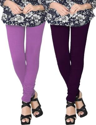JV Wears Women's Purple, Purple Leggings
