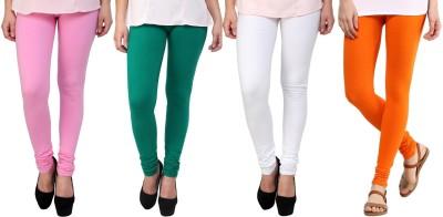 Legemat Girl,s Pink, Green, White, Orange Leggings