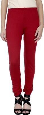 Trendline Women's Maroon Leggings